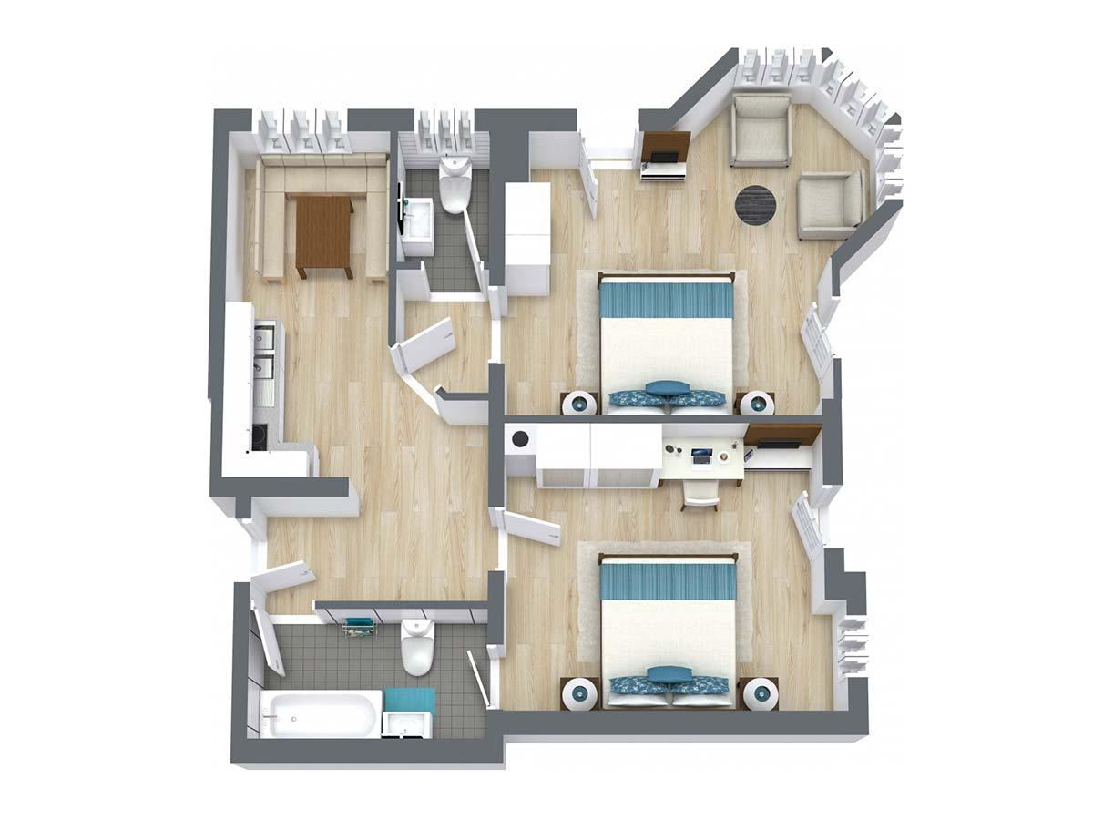 Appartement Akelei Landhaus Anja Appartements und Ferienwohnungen in Neustift Stubaital Tirol