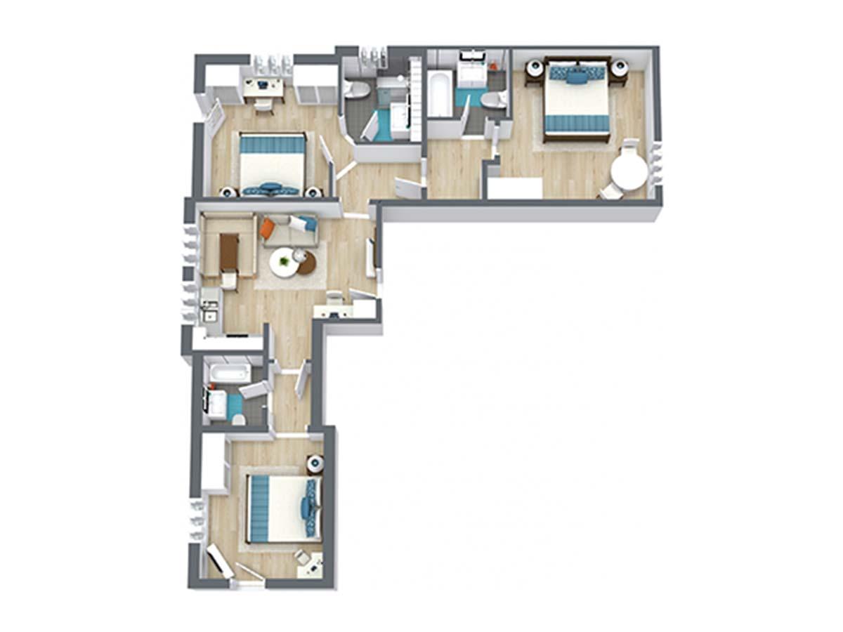 Appartement Alpenveilchen X-Large Landhaus Anja Appartements und Ferienwohnungen in Neustift Stubaital Tirol
