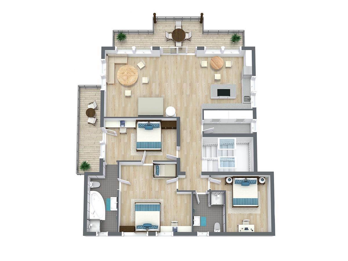 Appartement Akazie Landhaus Anja Appartements und Ferienwohnungen in Neustift Stubaital Tirol