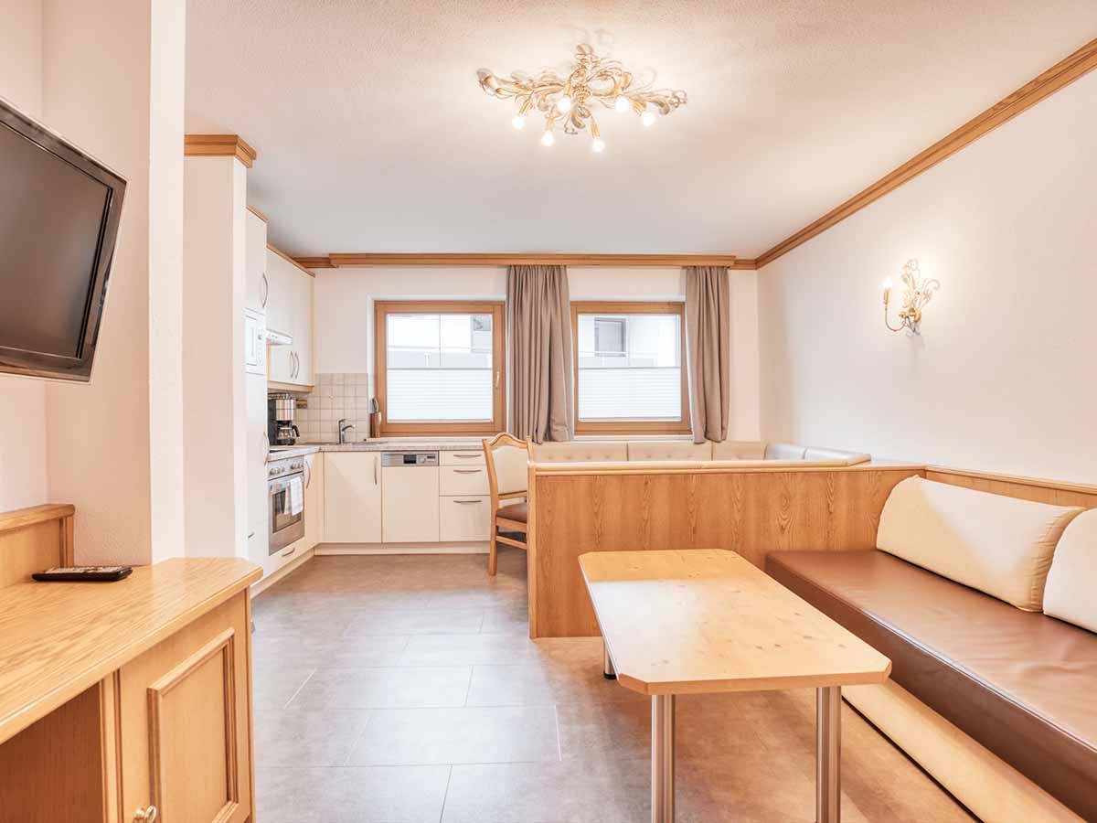 Appartement Alpenveilchen Landhaus Anja Appartements und Ferienwohnungen in Neustift Stubaital Tirol
